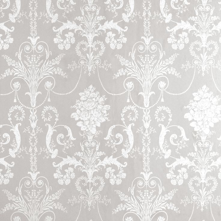 78 Best ideas about Damask Wallpaper on Pinterest | Silver