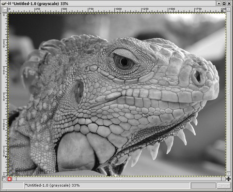 GIMP - Converting Color Images to B&W