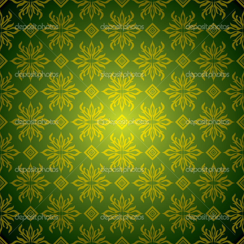 Green And Gold Wallpapers Group (49+)