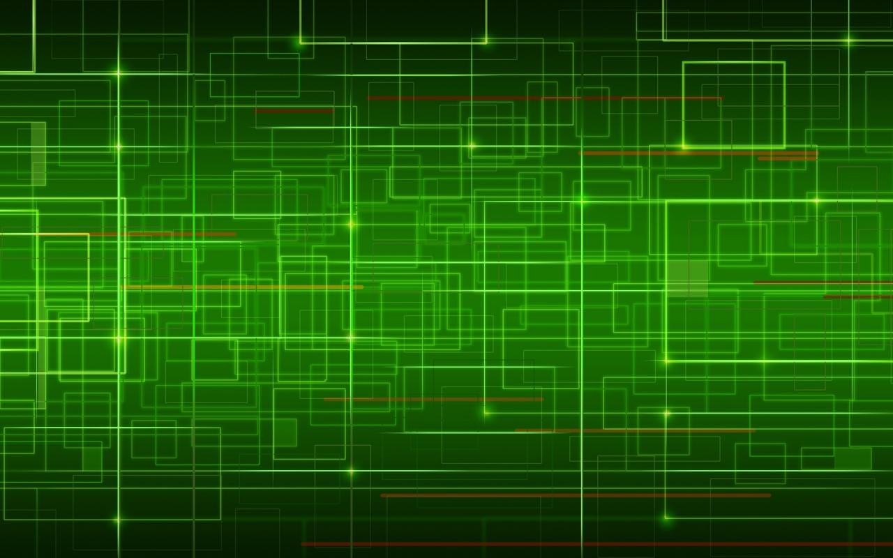Green desktop wallpaper