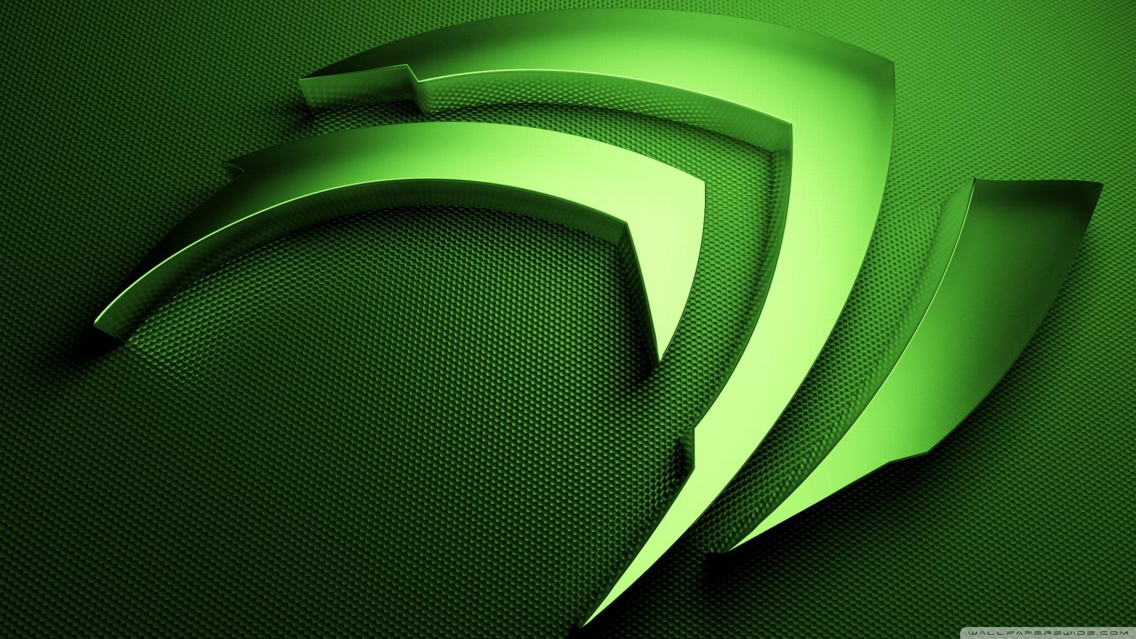 NVidia Green HD Desktop Wallpaper Widescreen High Definition Src