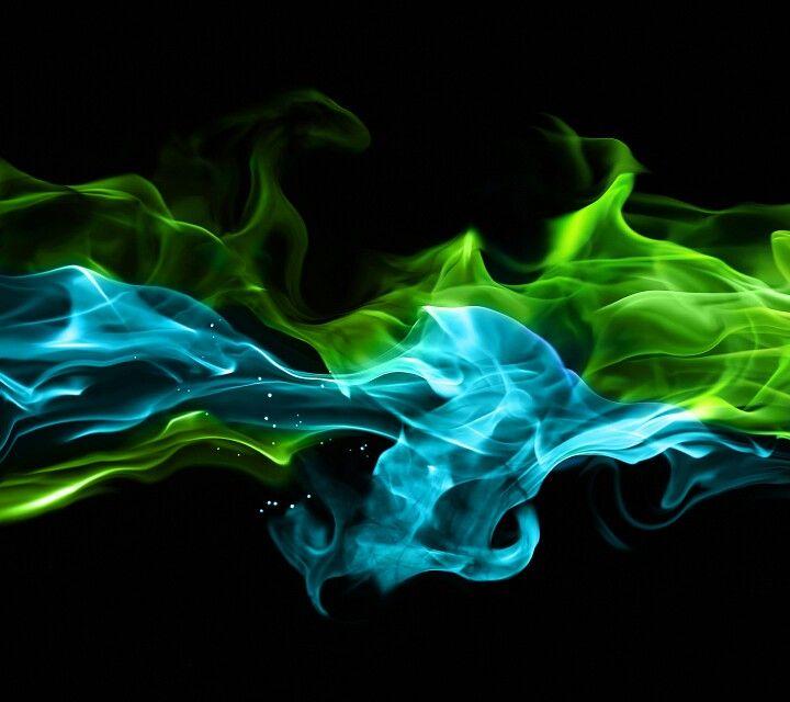 Green Smoke Wallpaper