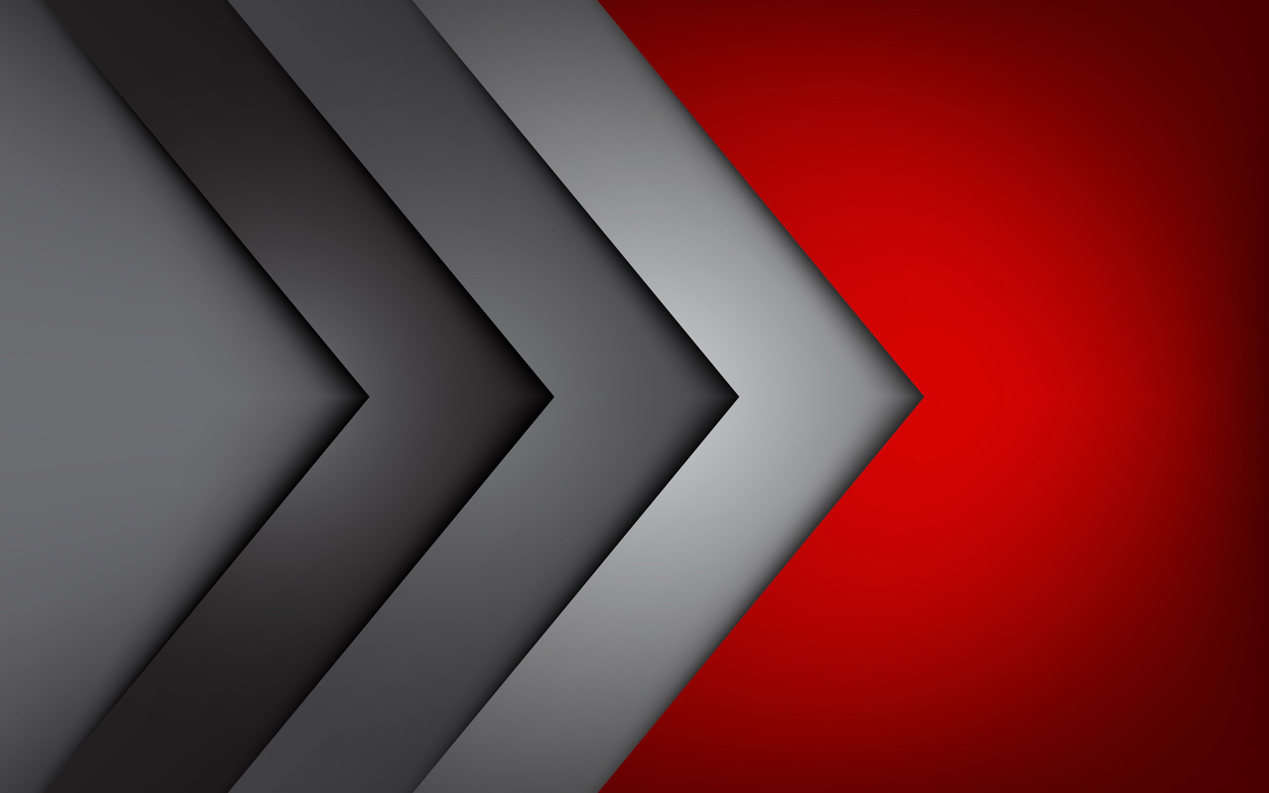 Grey And Red Wallpaper