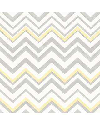 Get The Deal! 7% Off Chesapeake HAS47294 Susie Grey Chevron Wallpaper