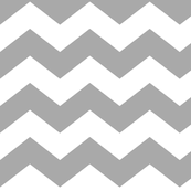grey zigzag fabric, wallpaper & gift wrap - Spoonflower