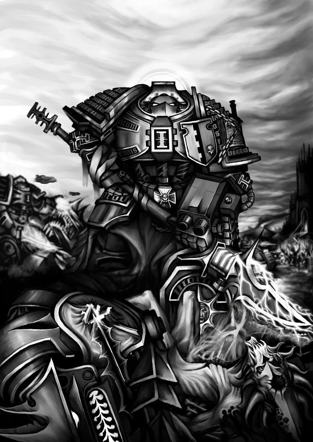 Warhammer 40k Wallpaper Grey Knights - WallpaperSafari