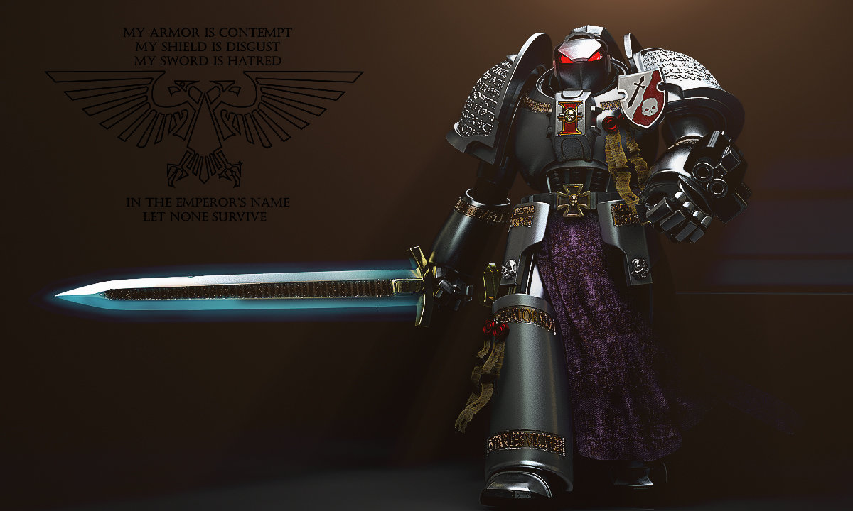1000+ images about Grey Knight on Pinterest | Armour, Emperor and