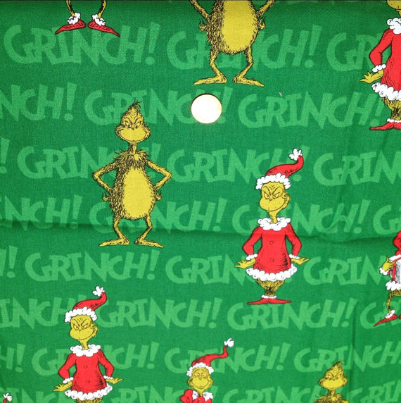 How the GRINCH Stole Christmas On Green Background by 2PlumpPigs