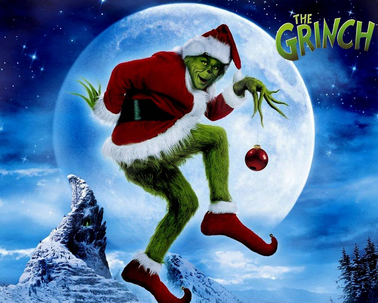 The Grinch (Wallpaper) - Movies Wallpaper