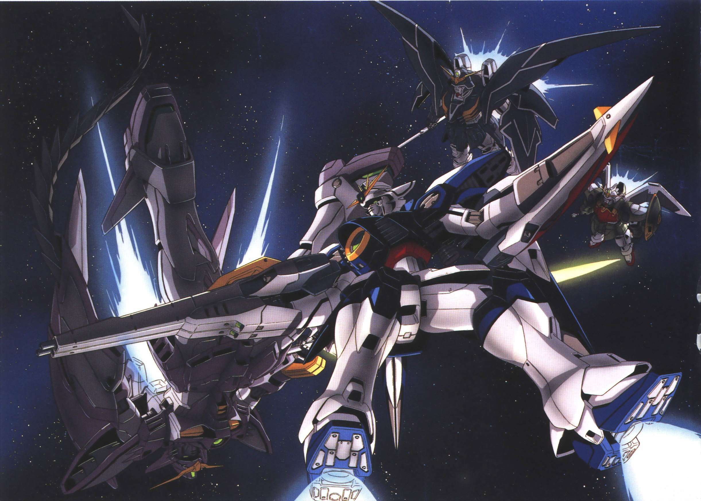 Gundam Wing Backgrounds - Wallpaper Cave