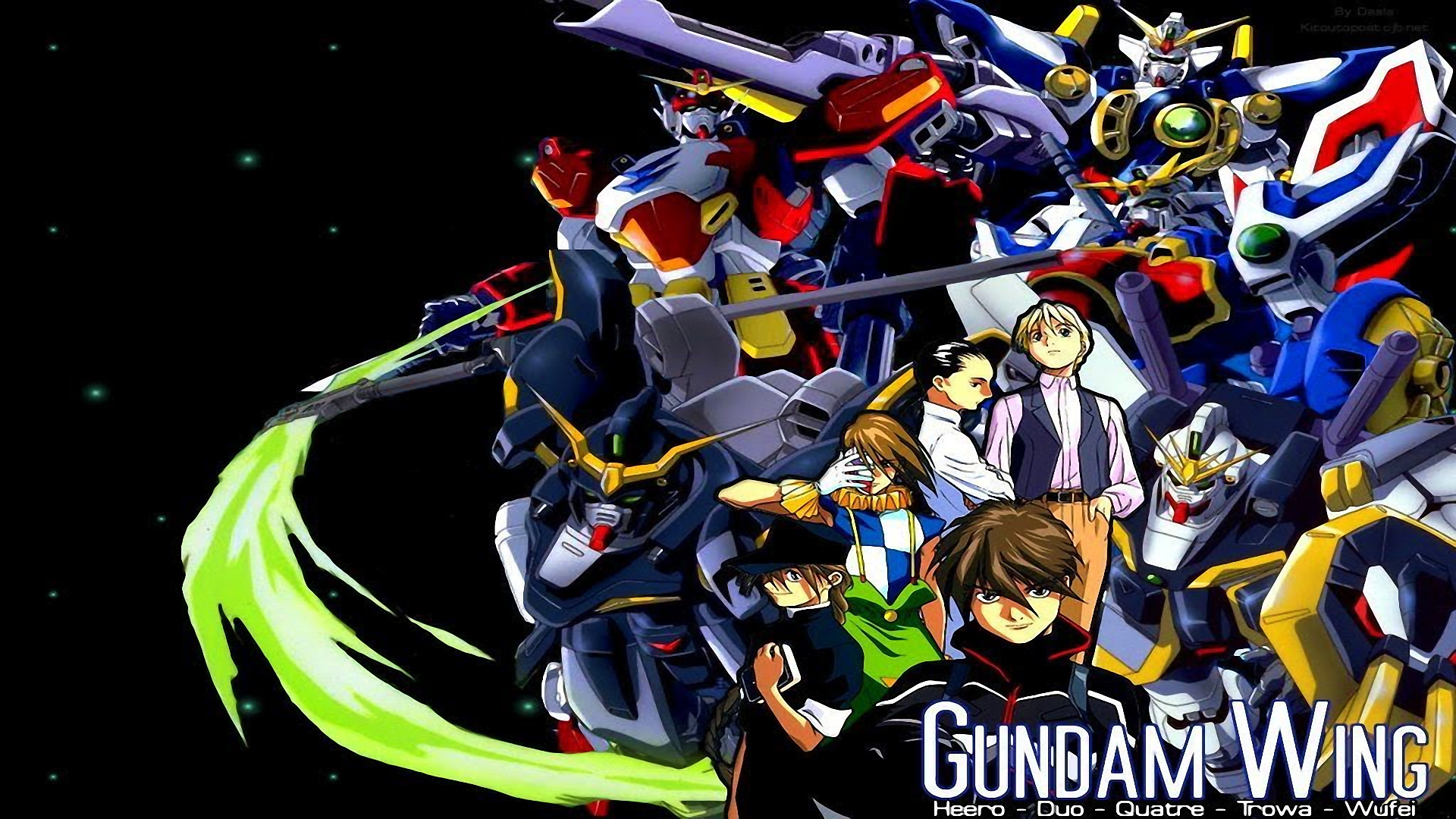 3 Gundam Wing: Endless Duel HD Wallpapers | Backgrounds