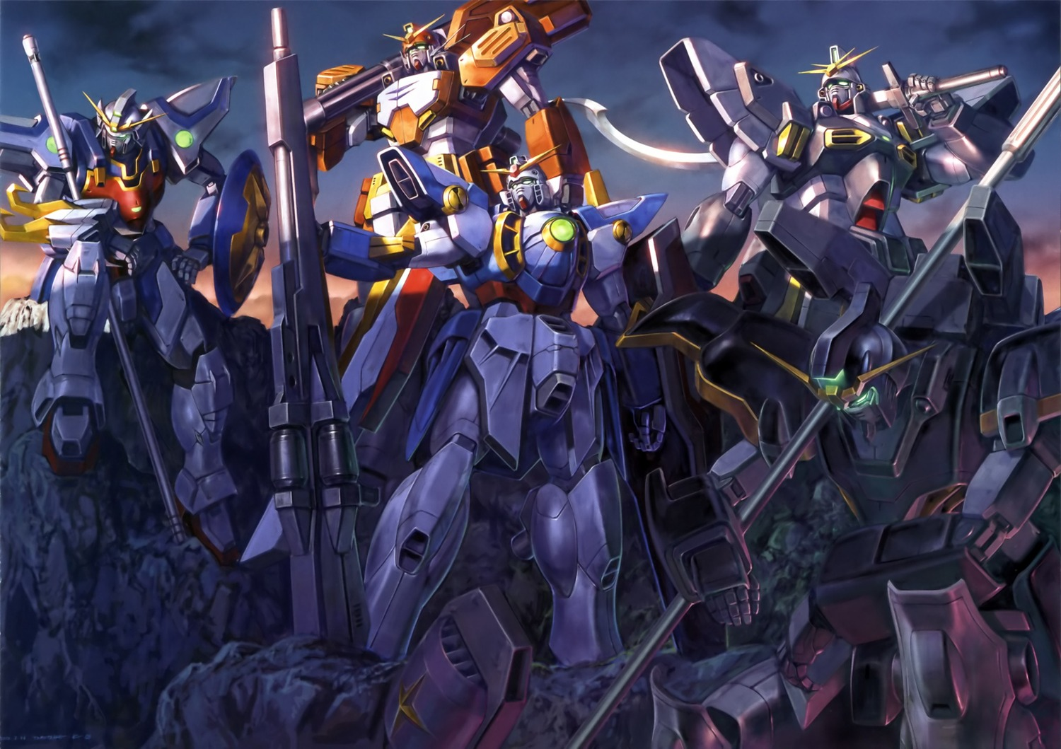 Wing Gundam Wallpaper - WallpaperSafari