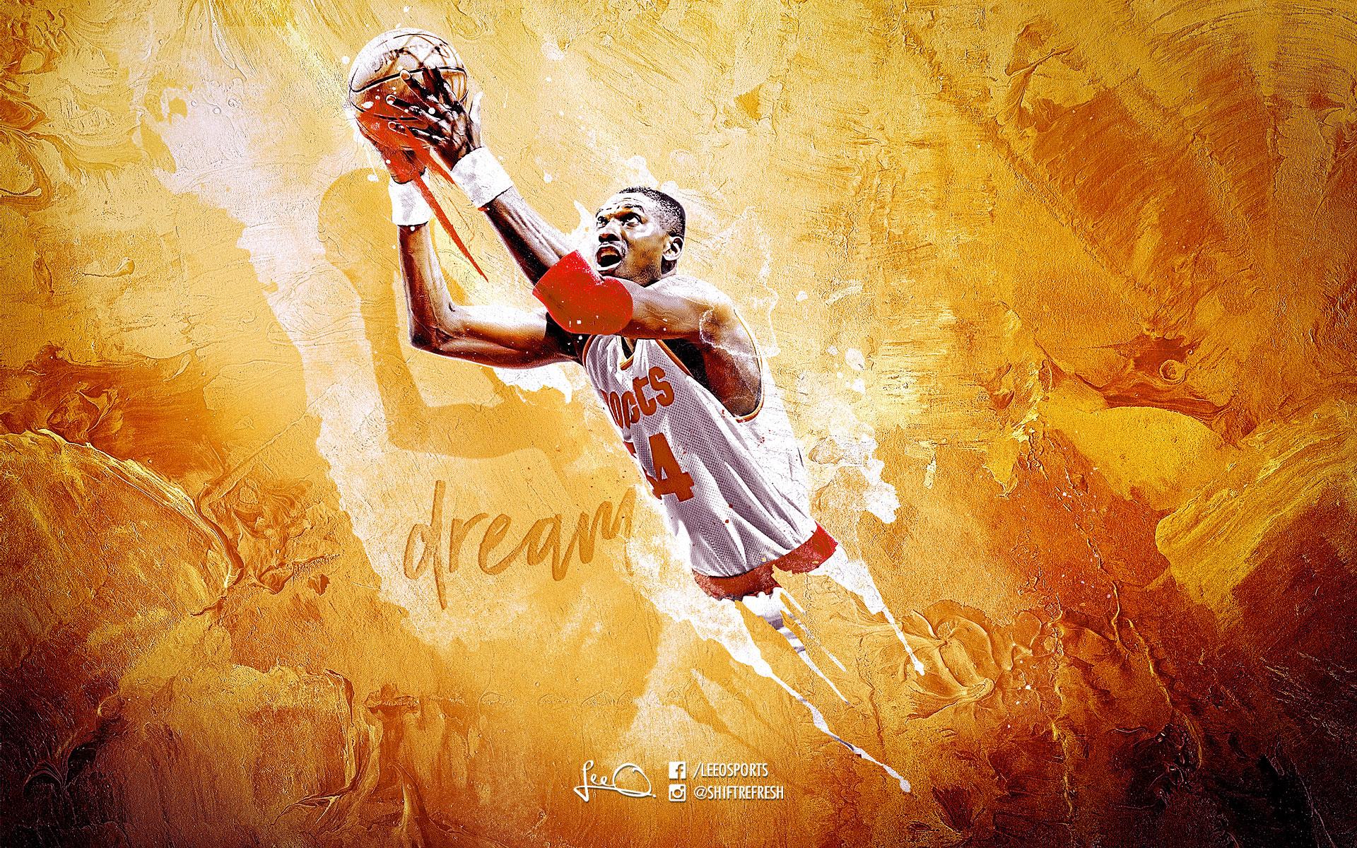 Hakeem Olajuwon Wallpapers | Basketball Wallpapers at