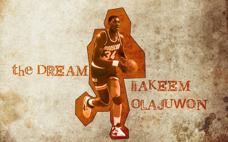 Hakeem The Dream Olajuwon Wallpaper | Basketball Wallpapers at