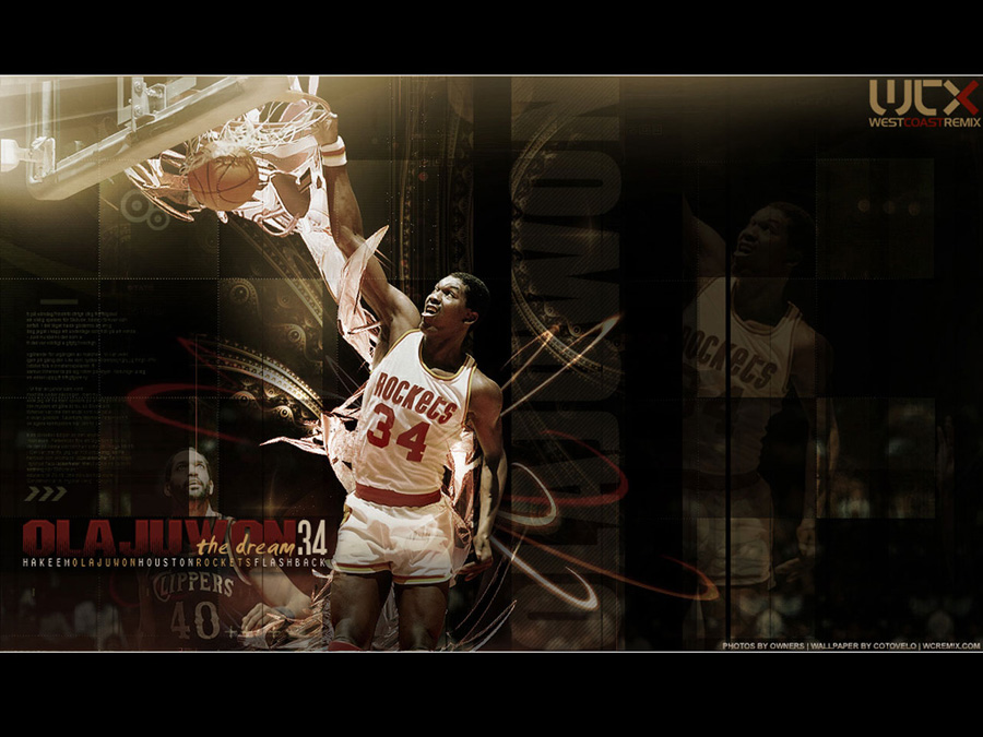 hakeem olajuwon wallpaper