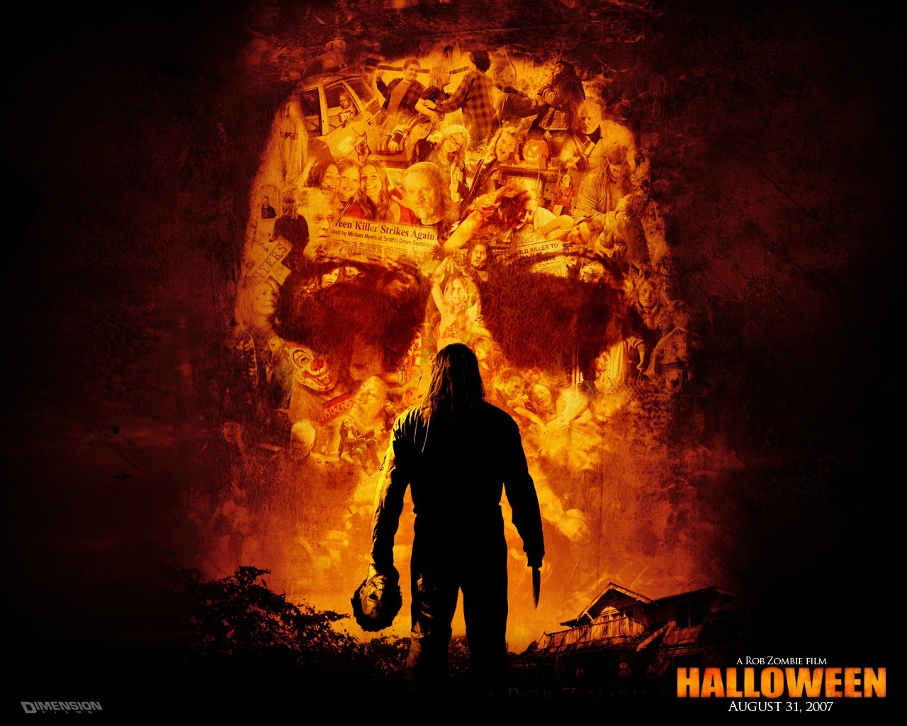 Wallpaper Halloween 2, Killer, Maniac, Death, Fear HD, Picture, Image