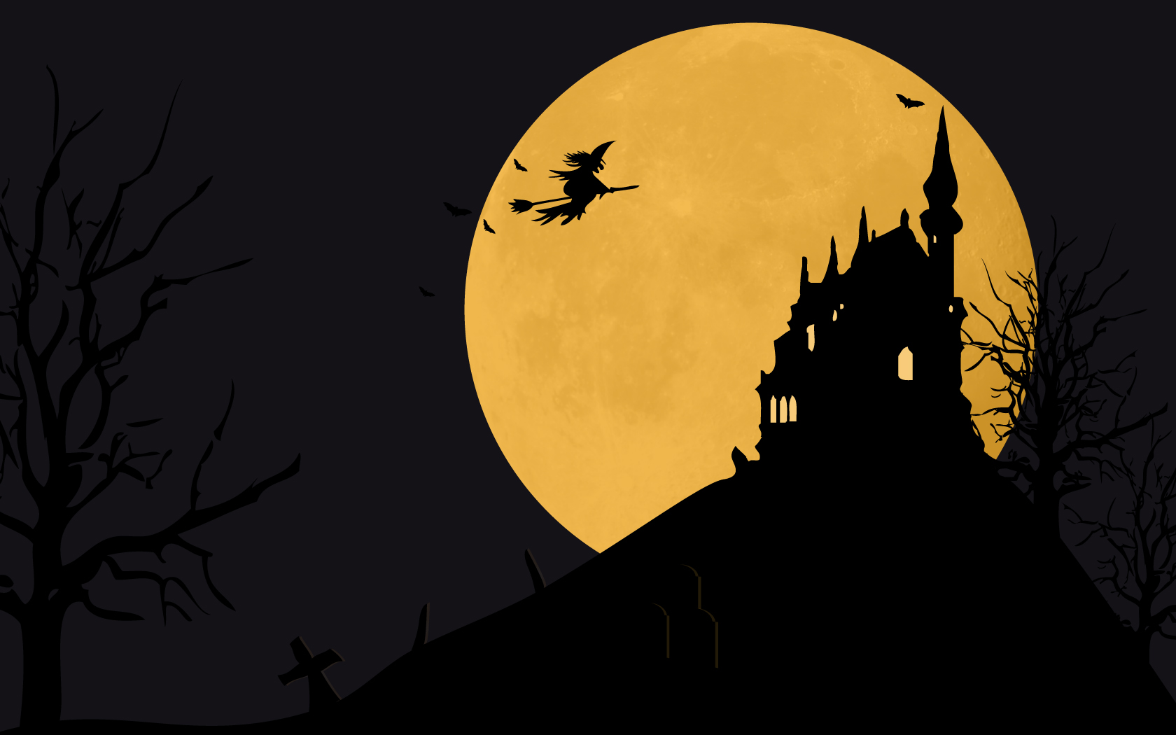 Hd Halloween Desktop Backgrounds - WallpaperSafari