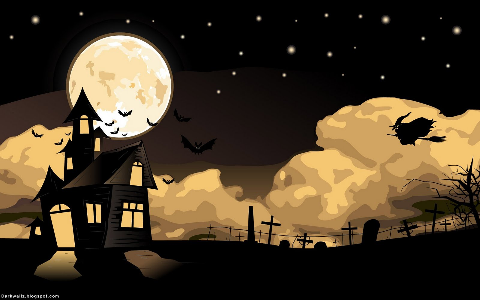Collection of Halloween Backgrounds Desktop on HDWallpapers