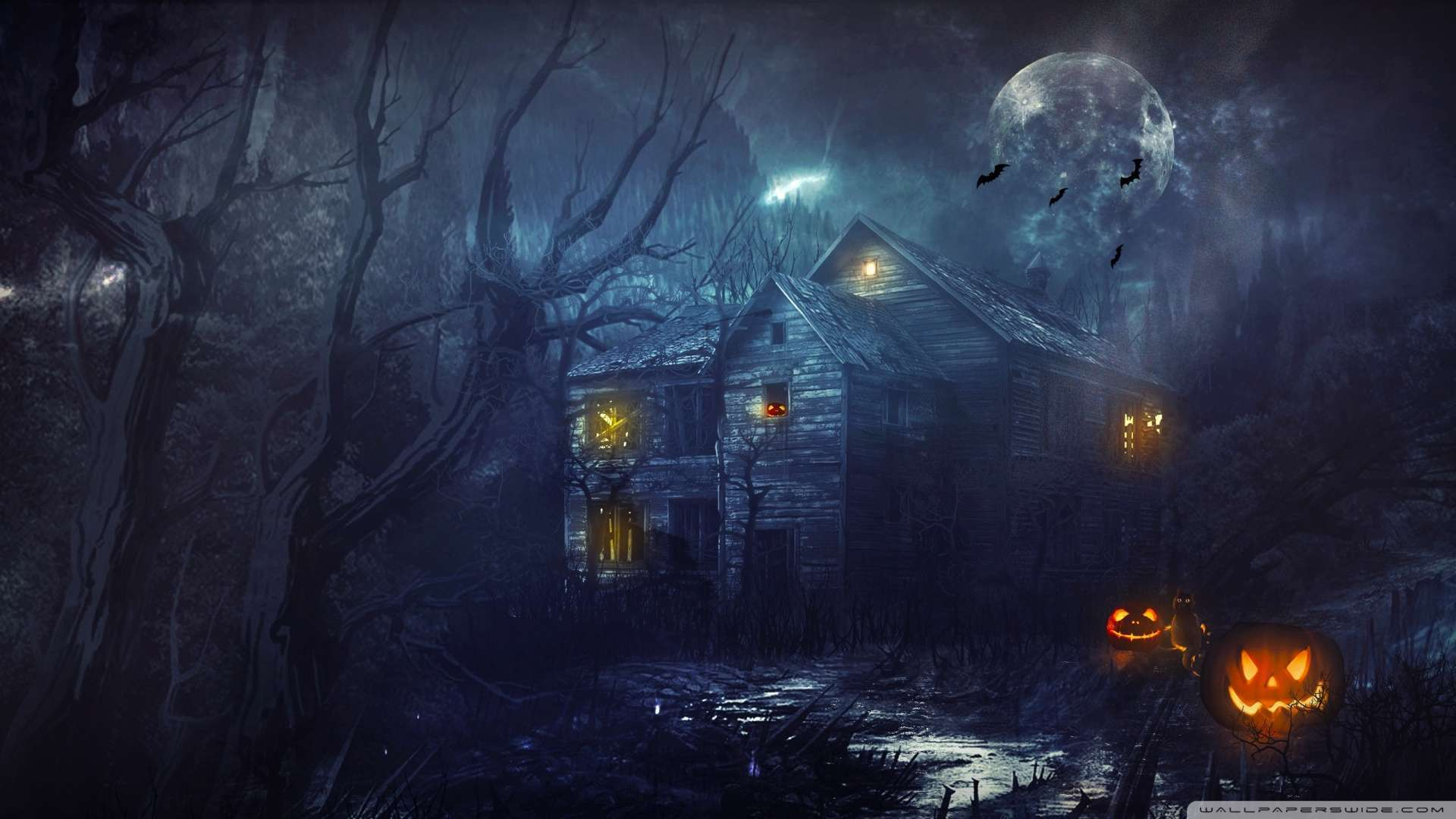 Collection of Halloween Computer Wallpapers on HDWallpapers
