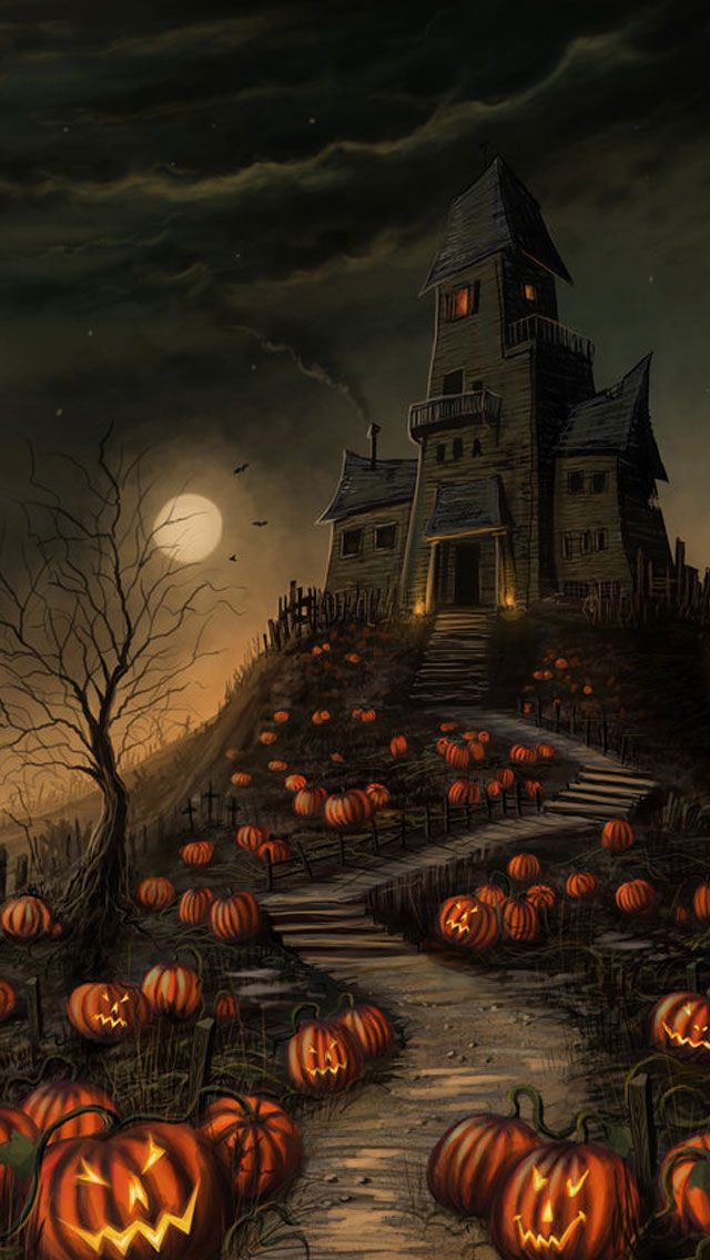 halloween phone backgrounds #11