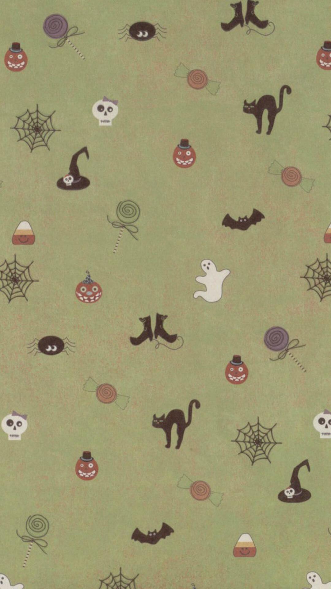 halloween phone wallpaper H | lyybj
