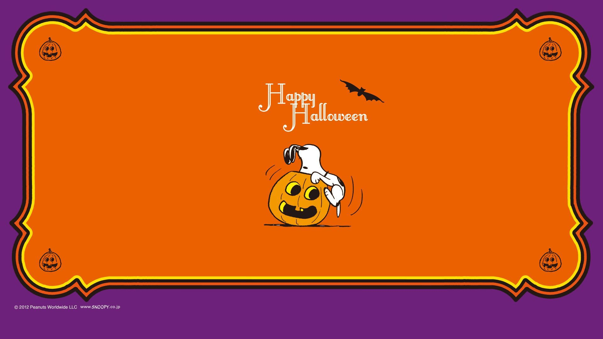 Snoopy Halloween Wallpapers - Wallpaper Cave