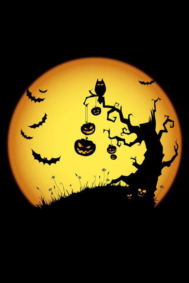 Live Halloween Wallpaper for iPhone - WallpaperSafari