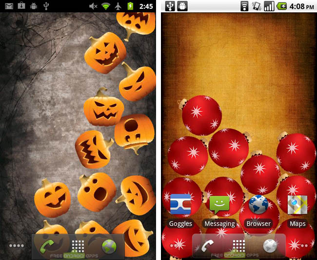 Download Halloween Gravity Live Wallpaper Free for Android | Get