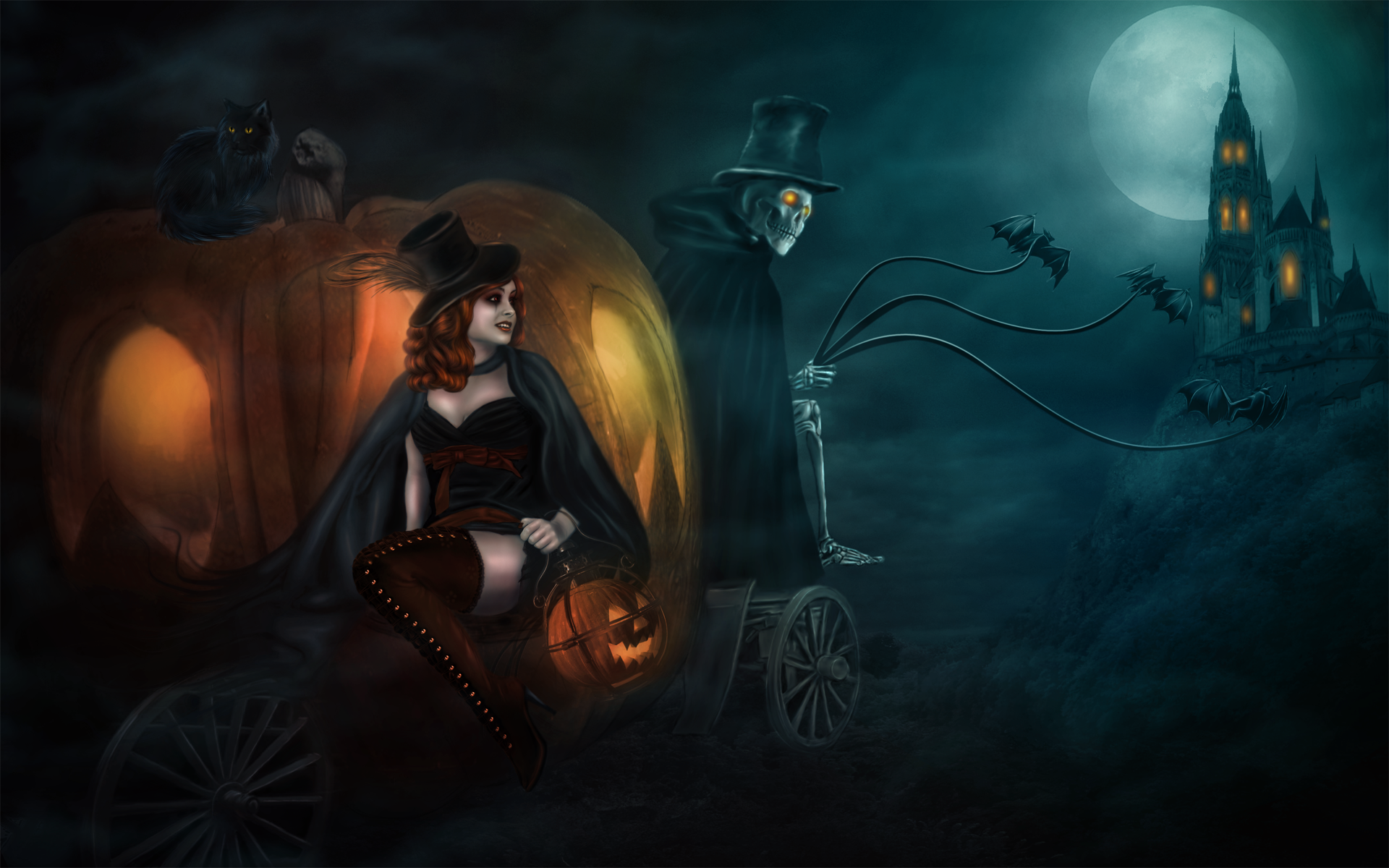 Halloween Witch Wallpaper Hd ~ Sdeerwallpaper