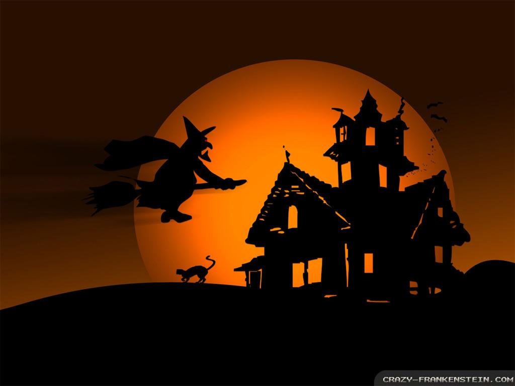 Halloween Witch wallpapers - Crazy Frankenstein