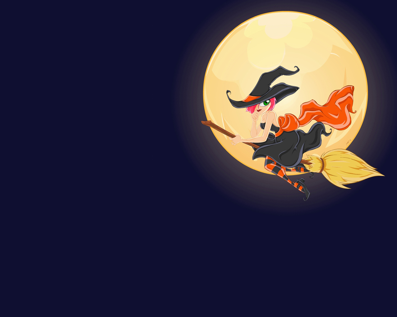 Scary Halloween 2012 HD Wallpapers | Pumpkins, Witches, Spider Web