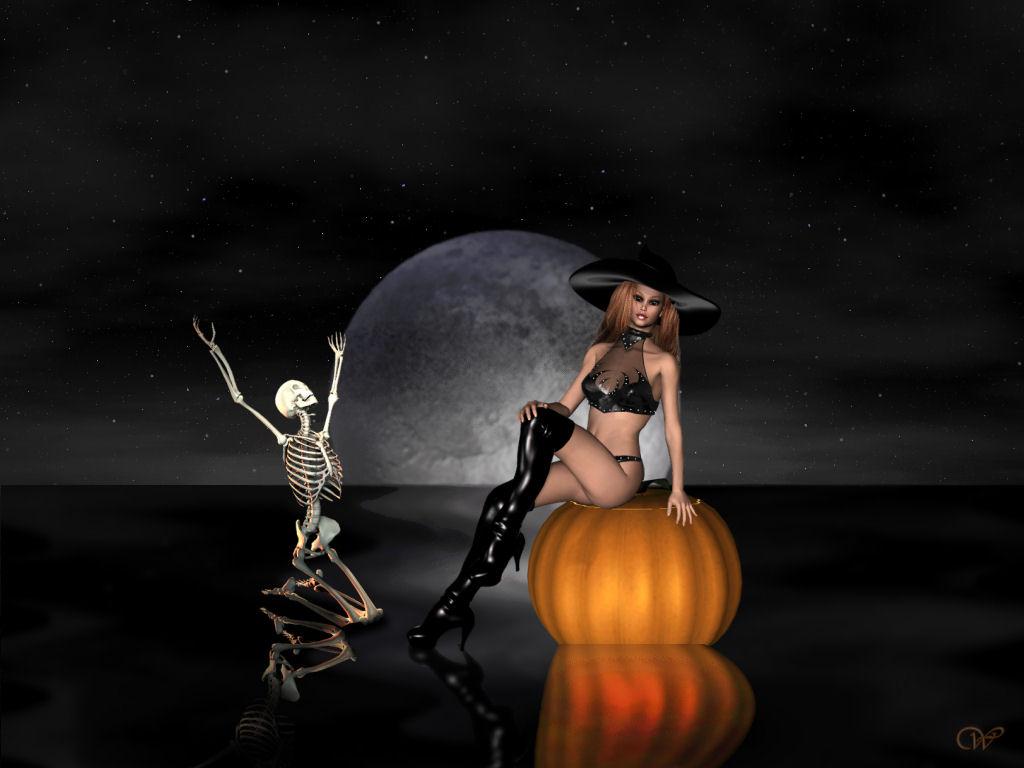 Free Halloween Wallpaper Witches - WallpaperSafari