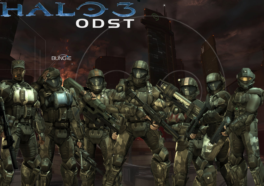 Halo 3 Odst HD Wallpapers | Backgrounds