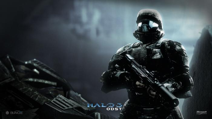 halo odst backgrounds