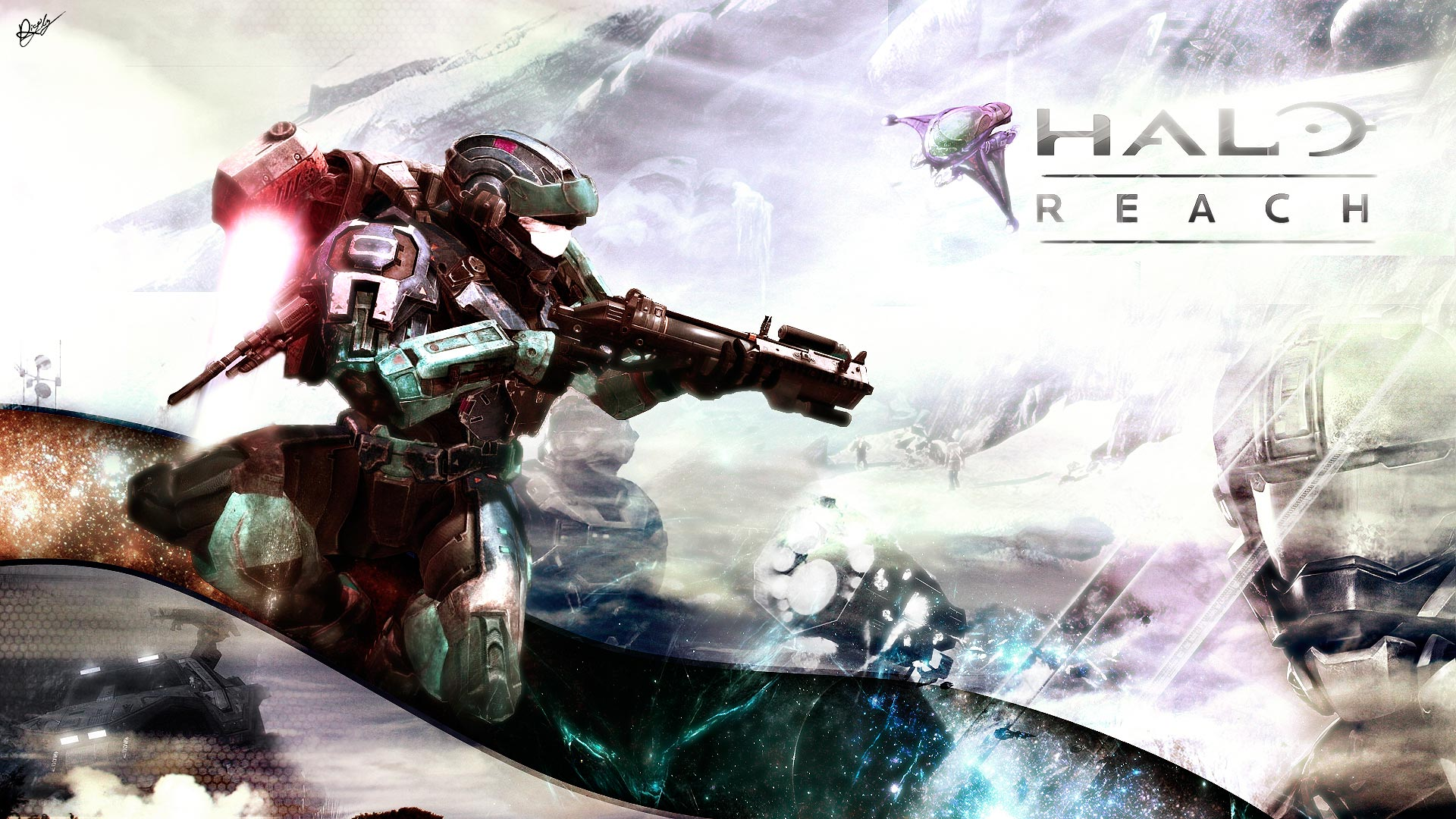 3 Halo: Reach HD Wallpapers | Backgrounds - Wallpaper Abyss