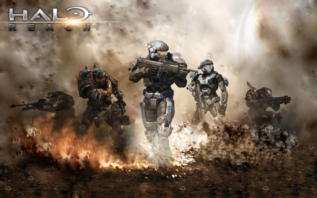 Halo Reach Noble Team Wallpaper Sf Wallpaper