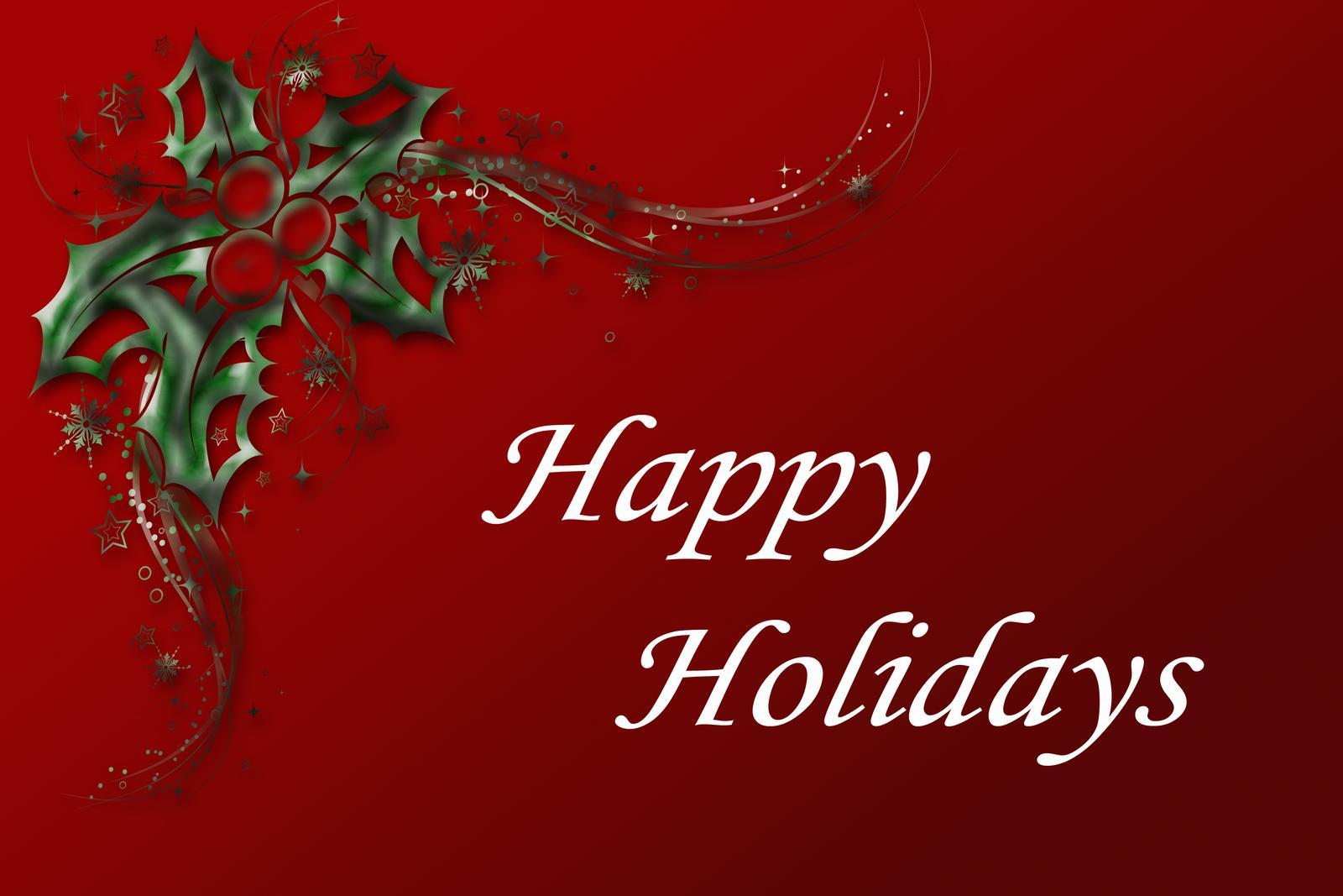 Happy Holidays Wallpaper Sf Wallpaper