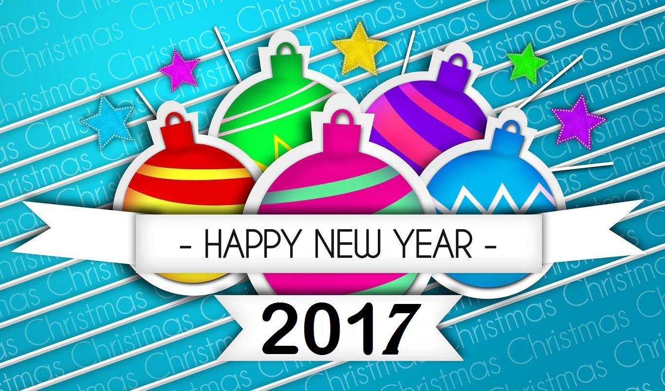 Happy New Year Wallpapers 2017 HD Desktop Animated