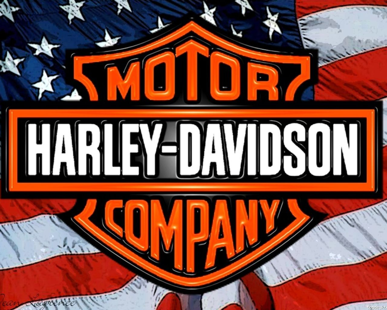 Collection of Harley Davidson Logo Desktop Wallpaper on HDWallpapers