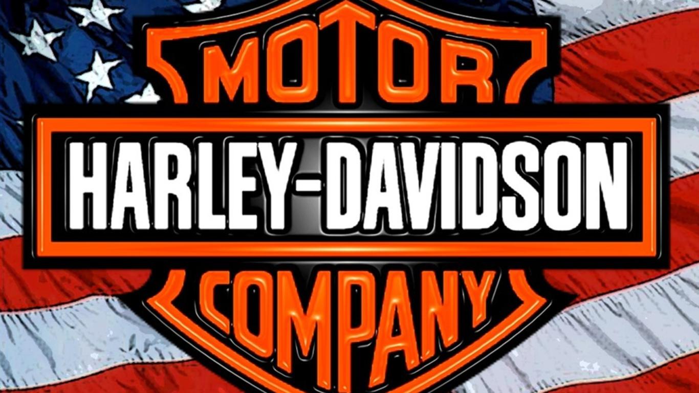 Harley logo wallpaper