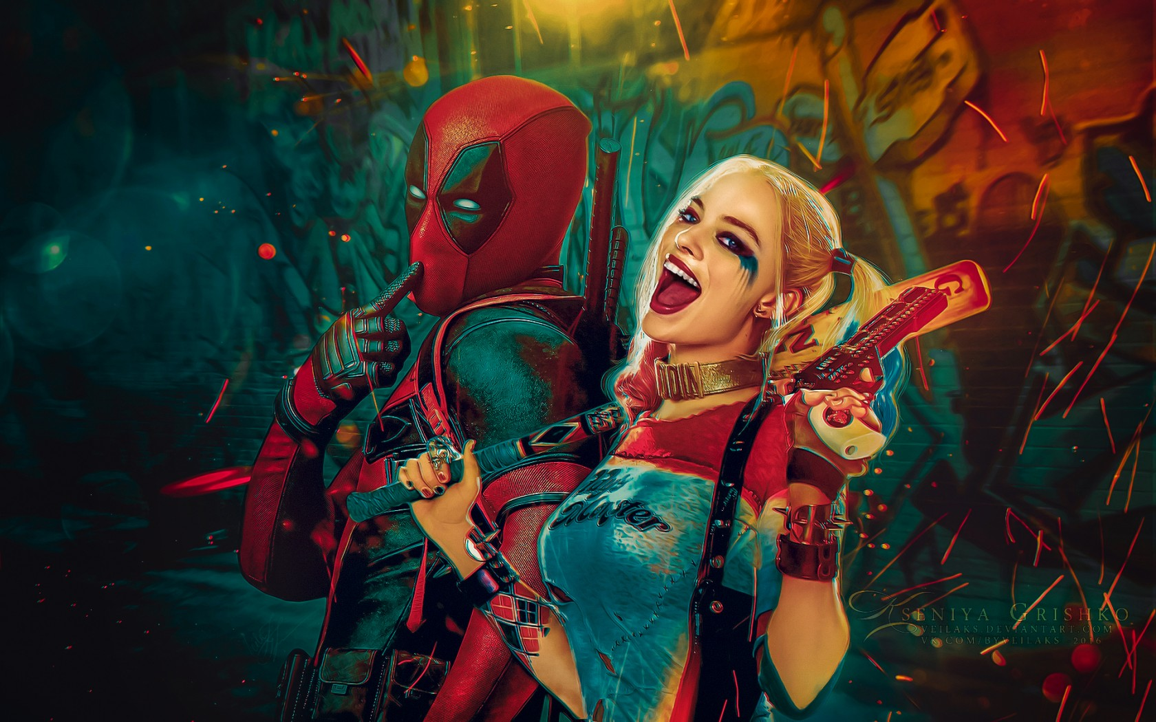 Harley Quinn Wallpapers HD Backgrounds, Images, Pics, Photos Free