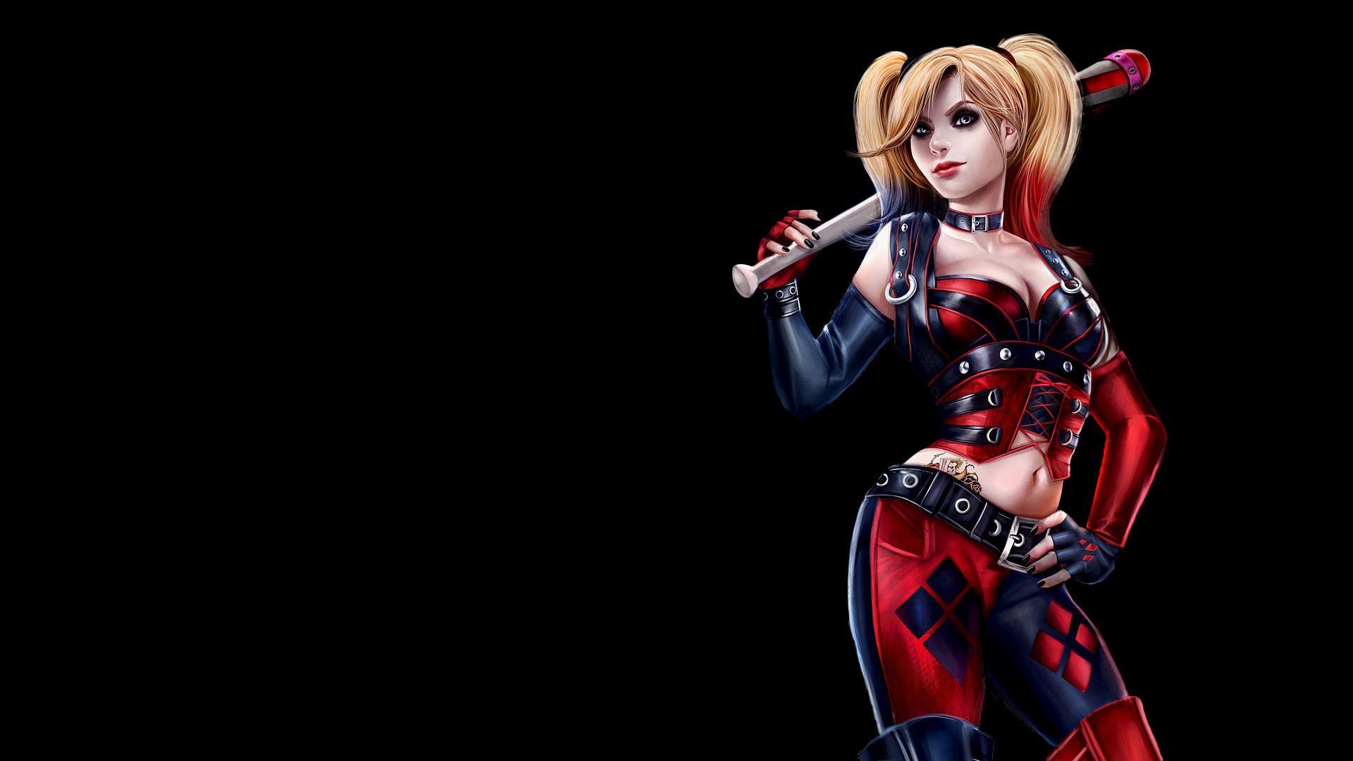 Collection of Harley Quinn Background on HDWallpapers