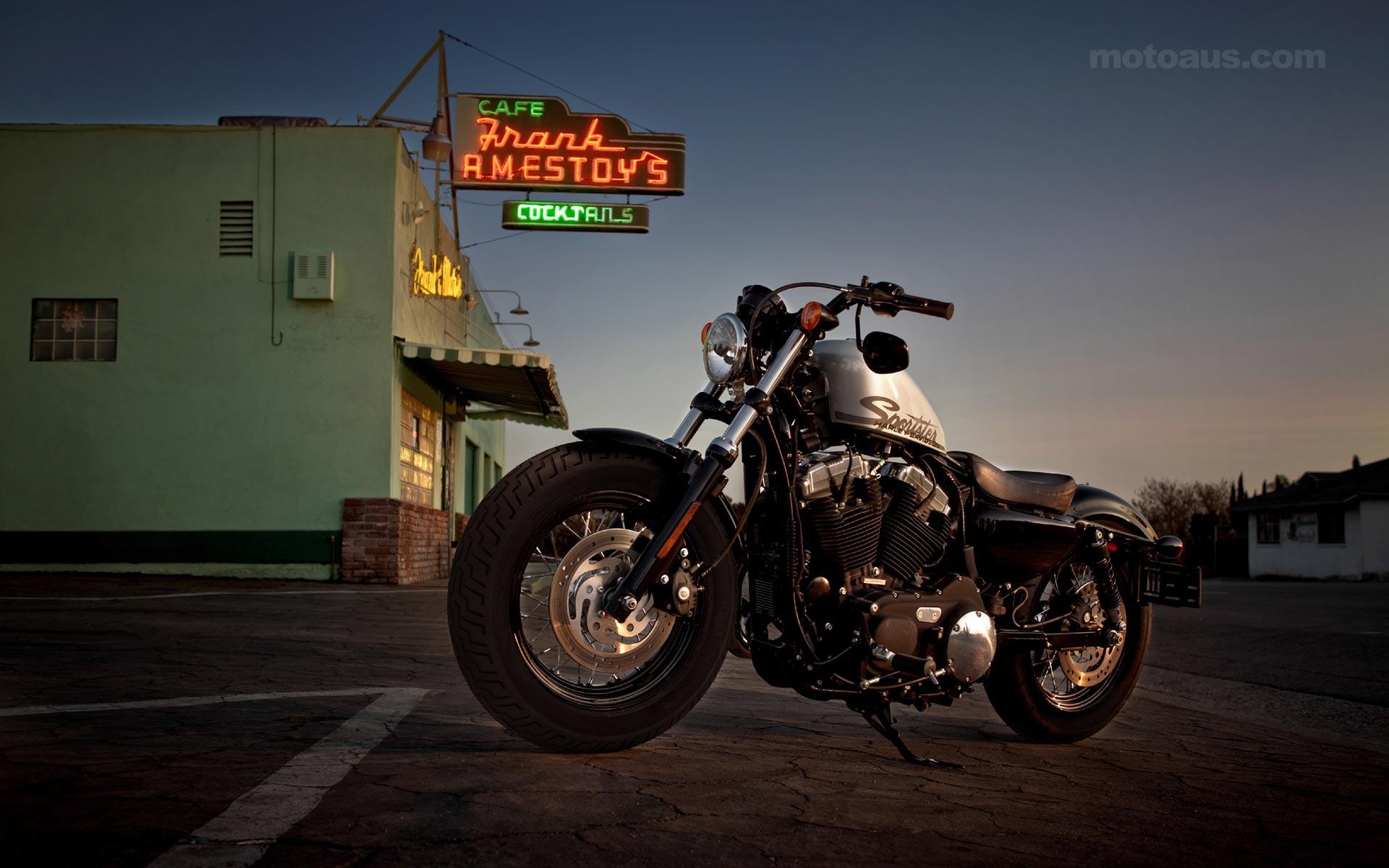 Harley Davidson Sportster Wallpapers - Wallpaper Cave