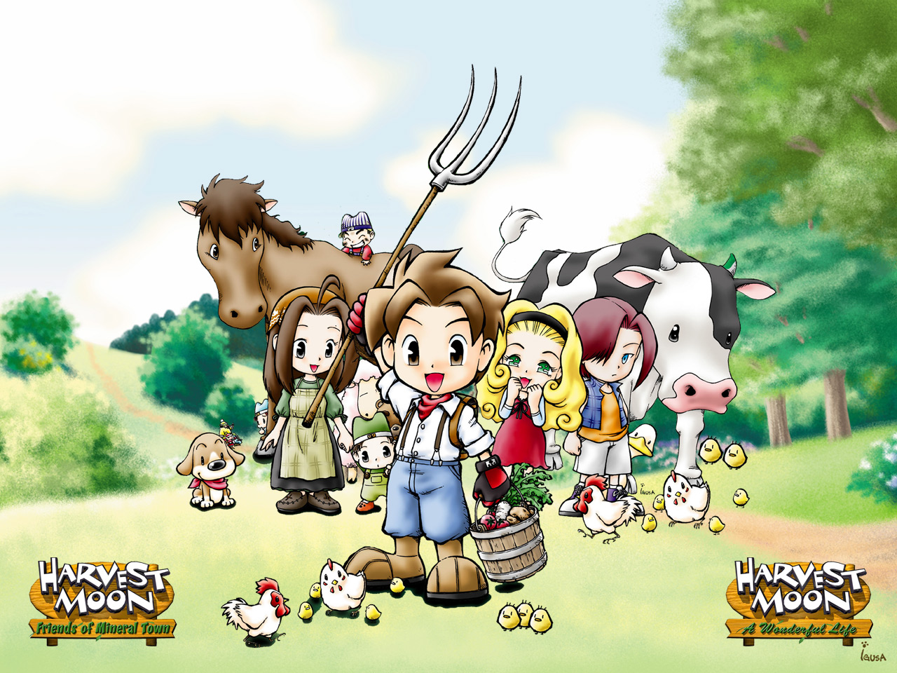 harvest moon wallpapers