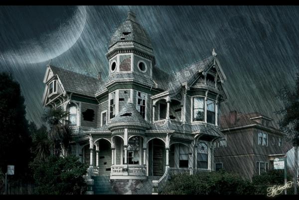 Inside Haunted House Wallpaper