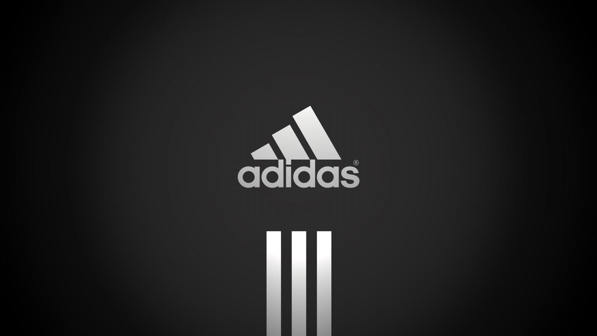 Adidas Black 1080p HD Logo Desktop Wallpaper | Places to Visit