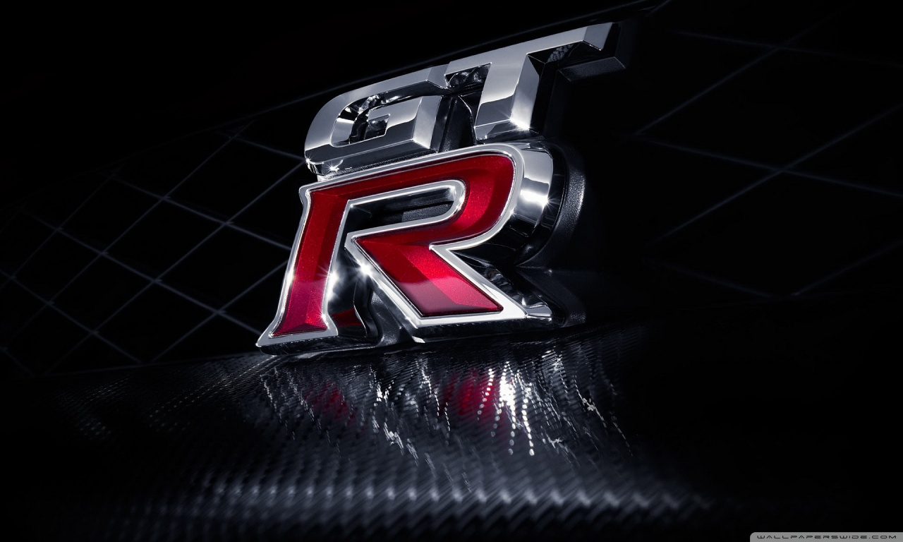 Nissan GT R Logo HD desktop wallpaper : Widescreen : High