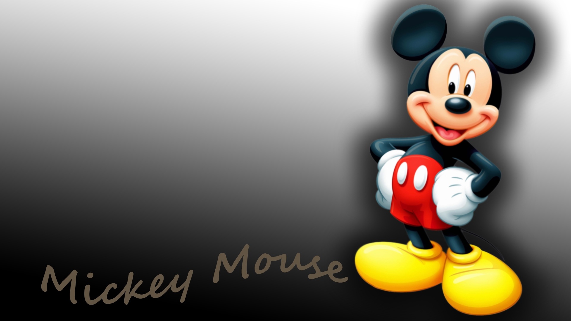 mickey mouse 3d wallpaper #10
