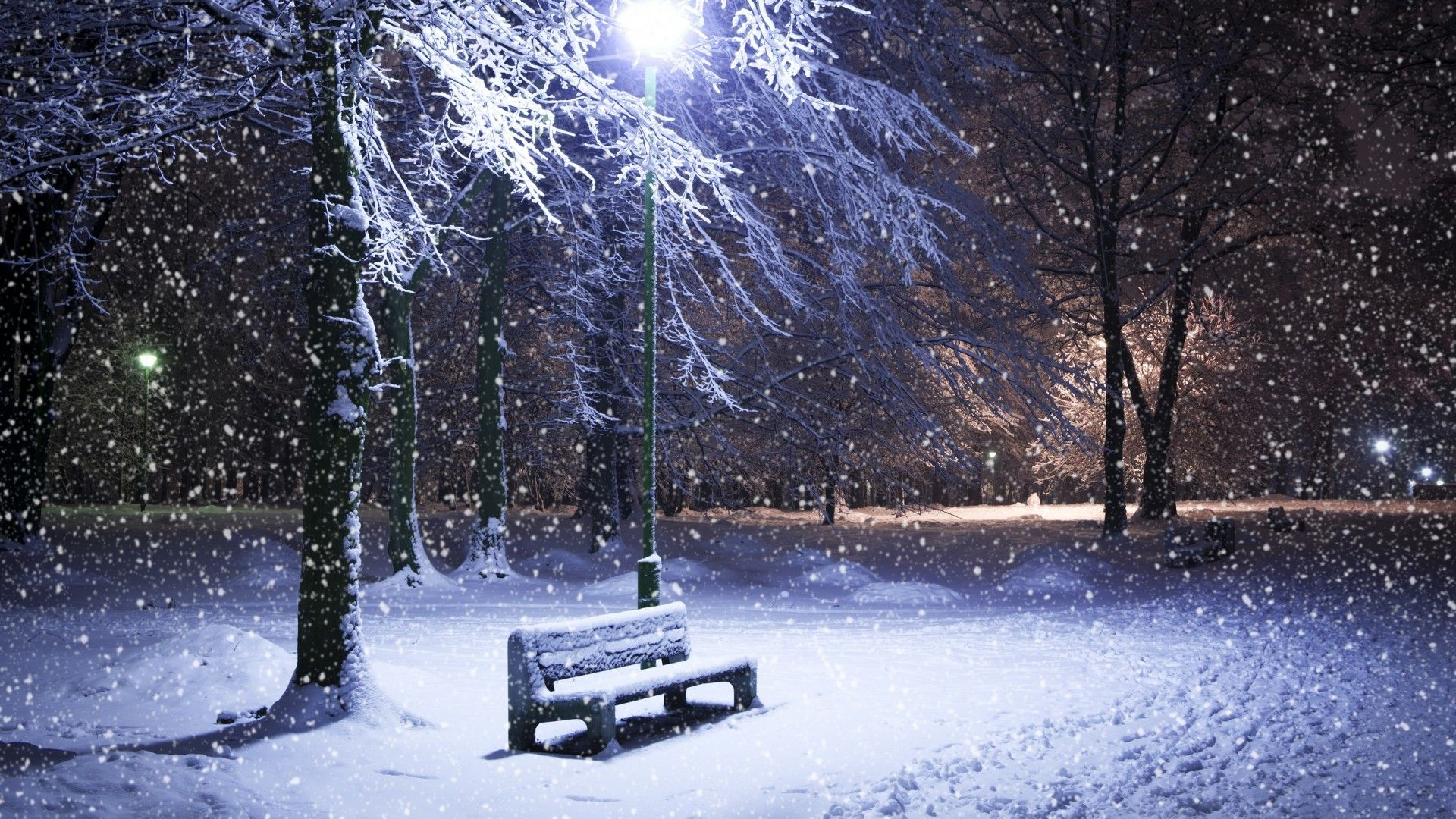 Hd Snow Wallpaper