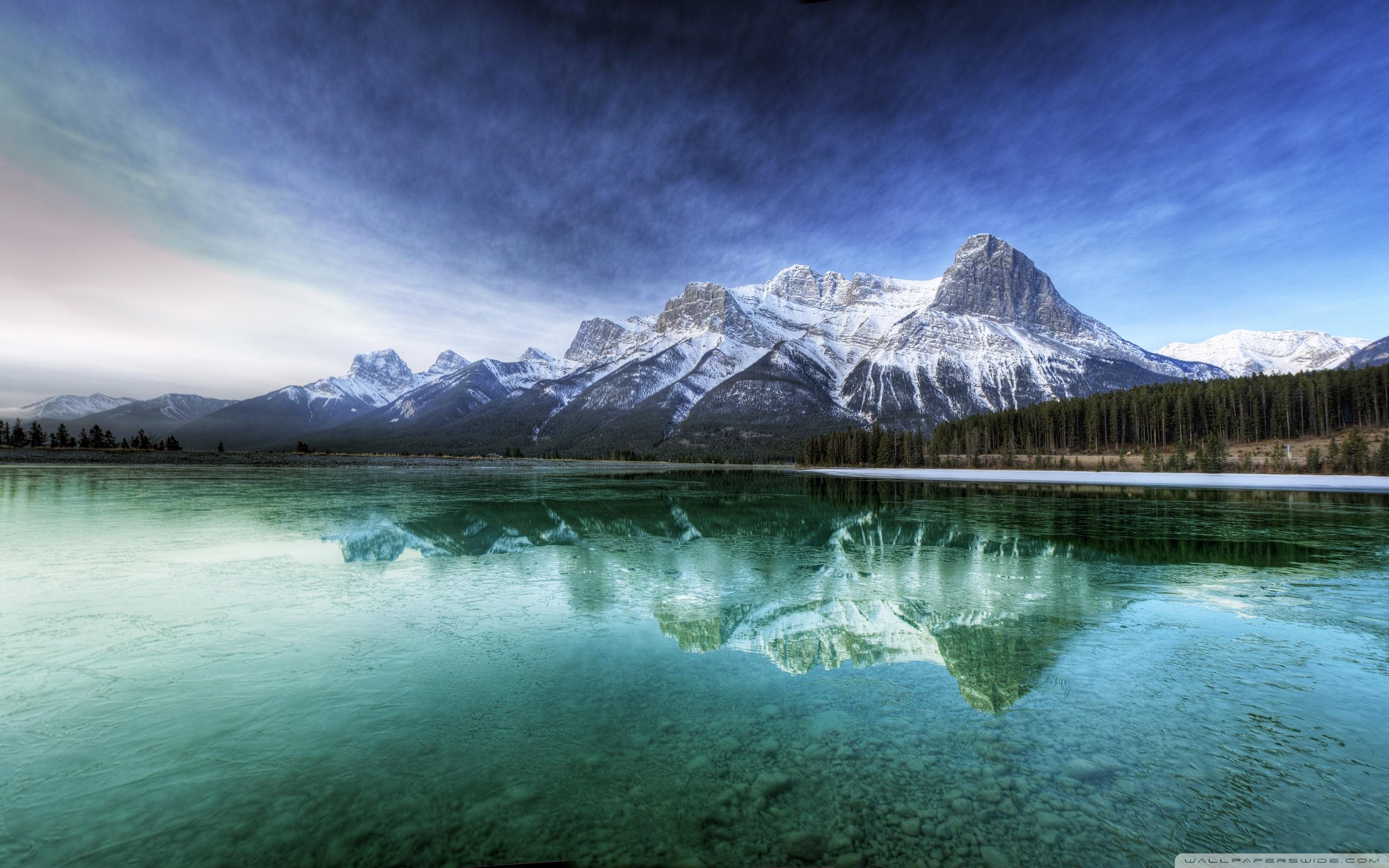 Good Wallpaper Mountain Water - hd-wallpaper-mountains-24  Image_475474.jpg
